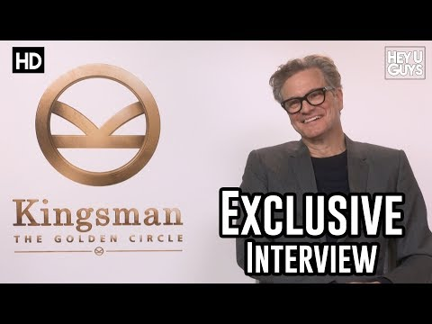 Colin Firth |  Kingsman The Golden Circle Interview | Mary Poppins Returns