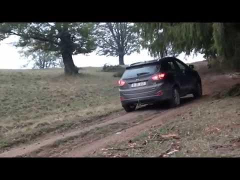 Off road challenge cu Hyundai ix35 4WD in Cheia jud. Prahova