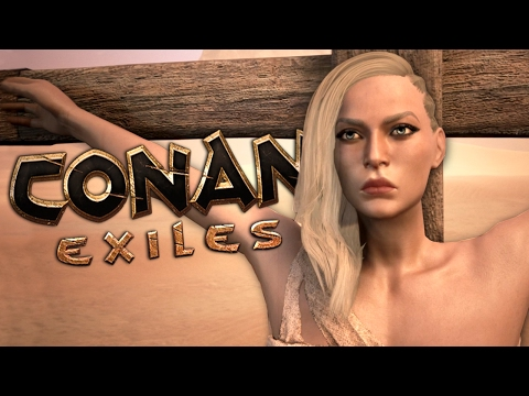 EXILED WITH FRIENDS - Conan Exiles Gameplay #1 |