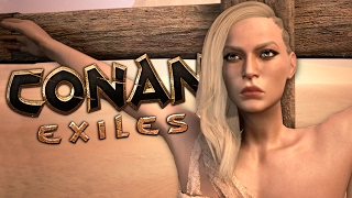 EXILED WITH FRIENDS - Conan Exiles Gameplay #1