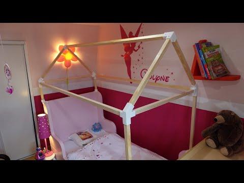 Fabriquer une structure de lit cabane pour enfant