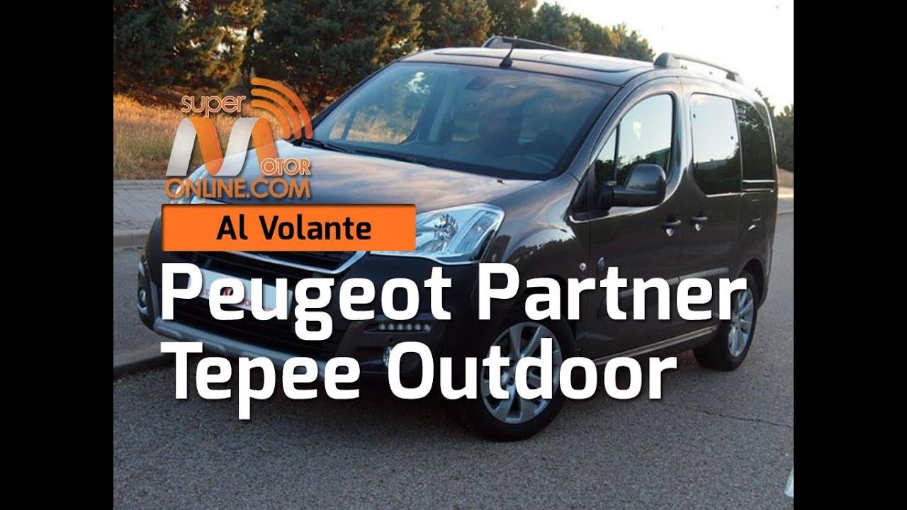 peugeot partner tepee outdoor 2016 / al volante / prueba dinámica