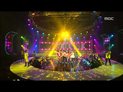 Wonder Girls - Tell Me, 원더걸스 - 텔미, Music Core 20071124