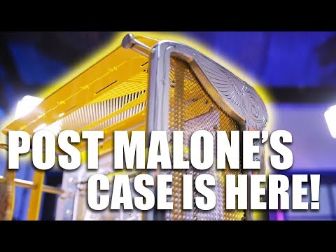 Post Malone - Beerbongs and Bentleys Custom PC Case!