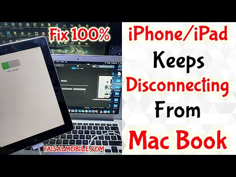 iPhone/iPad Keeps Connecting And Disconnecting From Mac Book Fixed 100%