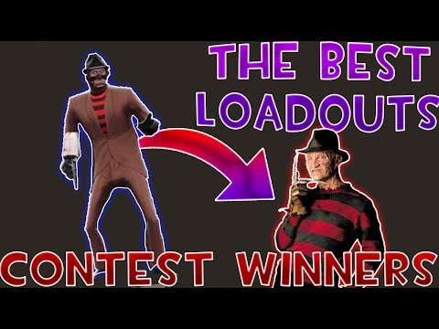 [TF2] THE BEST LOADOUTS/COSTUMES (Halloween Contest WINNERS)
