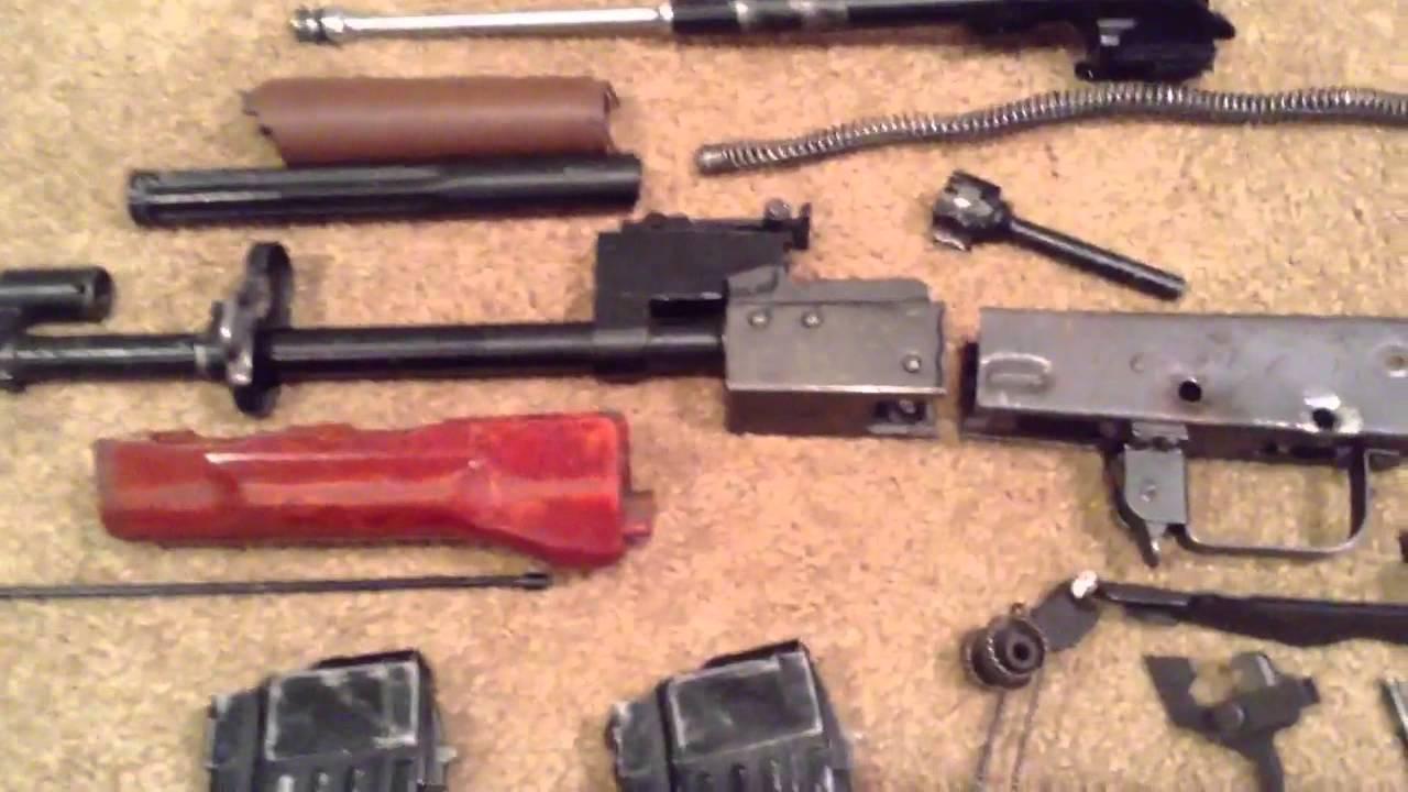 Ak 47 80 receiver - Polish Tantal Ak 74 Parts Kit Youtube