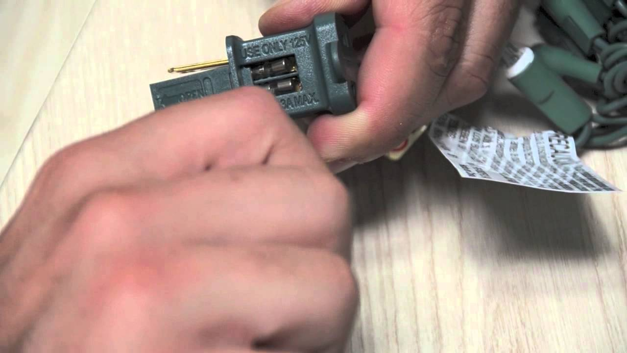 replacing plug fuses youtube