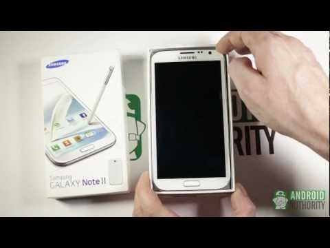 Galaxy Note 2 - Unboxing