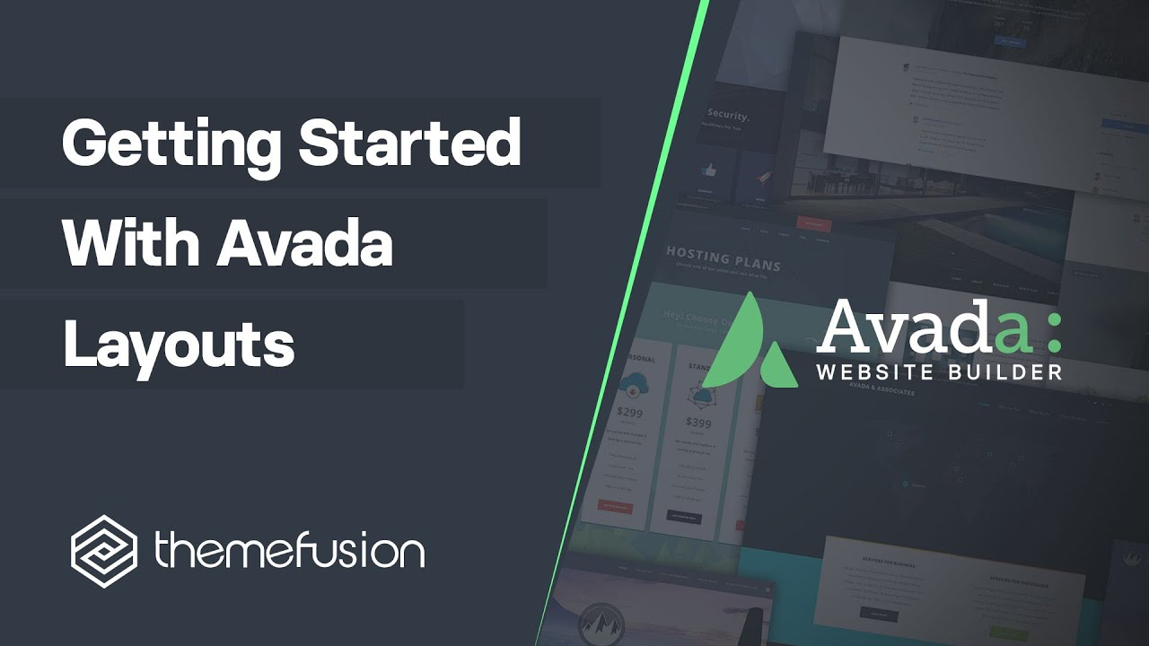 Download Getting Started With Avada Layouts