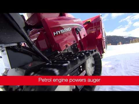 Снегоуборщик бензиновый HONDA HSM 1380 IE