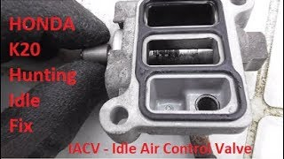 T2EP3 Part 24 : Honda Civic EP3 K20 Hunting Idle Fix - IACV Cleaning