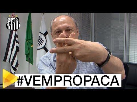Presidente Peres convoca torcida para o clássico no Pacaembu
