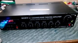 5.1 manual amplifier   BN electric s