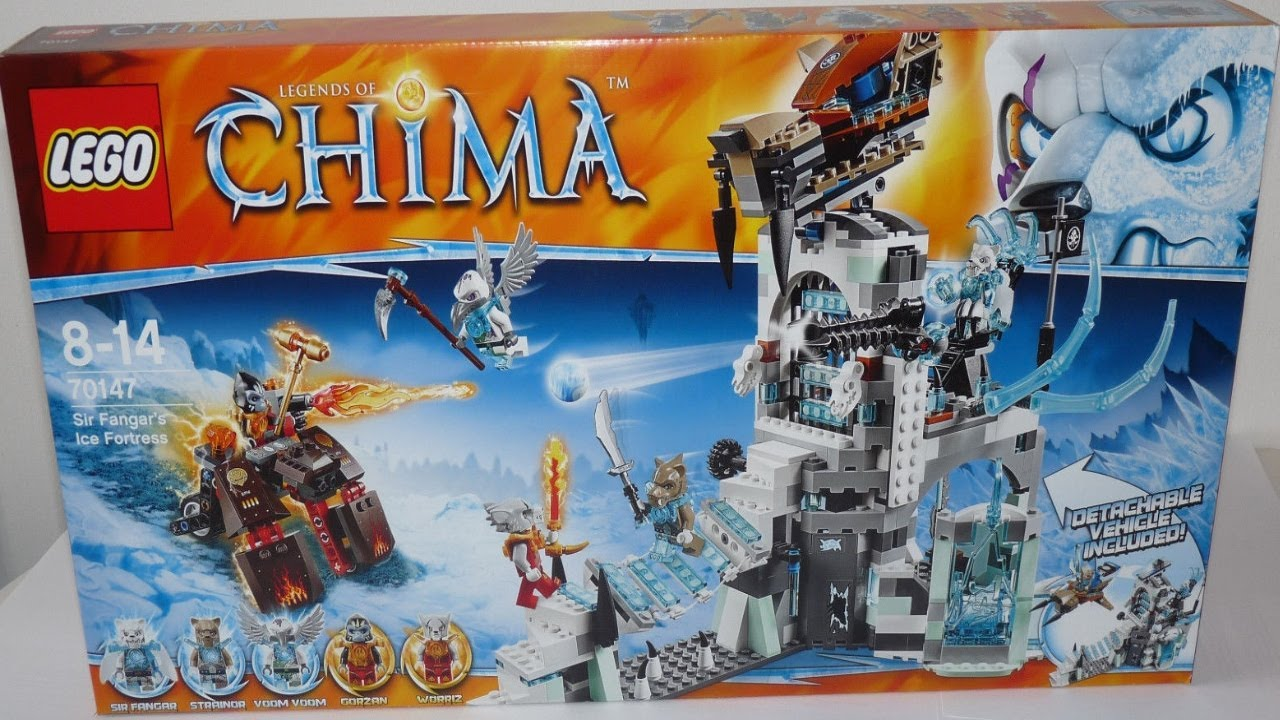 Lego Chima Ice Fortress 2014 Set Pictures Leaked Lego Friends
