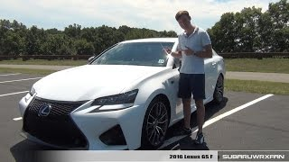 Review: 2016 Lexus GS F