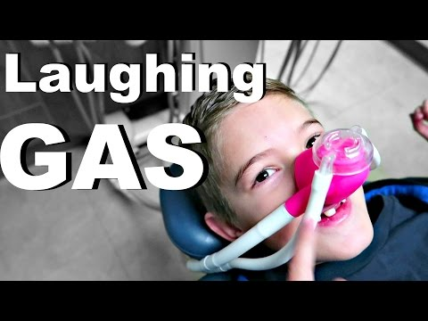 😂Laughing GAS from DENTIST!