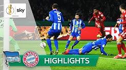 Hertha BSC - FC Bayern München 2:3 n.V. | Highlights - DFB-Pokal 2018/19 | Achtelfinale