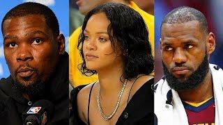 Kevin Durant Takes LeBron James Girl (Rihanna)