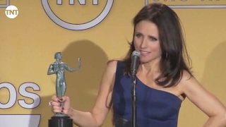 Julia Louis-Dreyfus   Press Room   SAG Awards