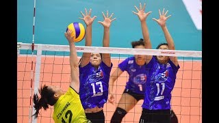 HL | AVC Women's U19 2018 | รอบแรก | ไทย พบ เวียดนาม