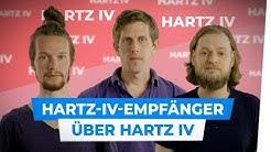 Hartz-IV-Empfänger über Hartz IV