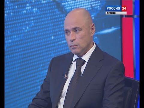 Игорь Артамонов — гость студии ГТРК «Липецк»