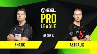 CS:GO - Astralis vs. Fnatic [Train] Map 2- Group C - ESL EU Pro League Season 10