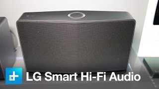 LG Music Flow wireless multi-room speaker system
