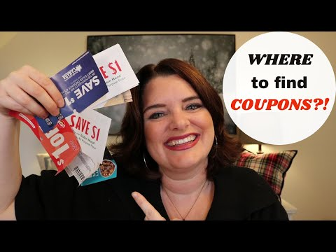 WHERE TO GET COUPONS IN CANADA |  Find Online Printable, Paper Clip, and Mobile Apps!