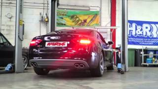 Awesome - Audi S5 3.0T APR RSC Exhaust
