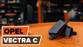 Installation Bremsbelagsatz Keramik OPEL VECTRA: Video-Handbuch