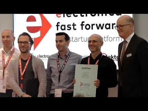 Elektor Fast Forward Award 2018 On Elektronika 2018