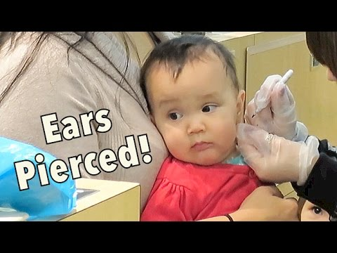 Thumbnail: Twins get their Ears Pierced! - Dancember 04, 2014 - itsJudysLife Daily Vlog