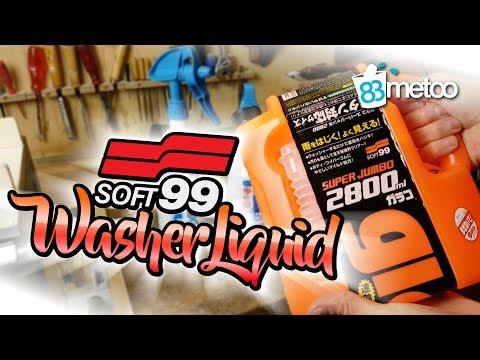 Soft99 Washer Liquid | Scheibenfrostschutz Konzentrat das keine Scheibenversiegelung angreift