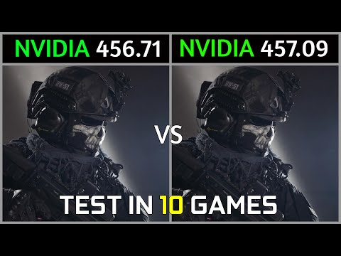 Nvidia Drivers 456.71