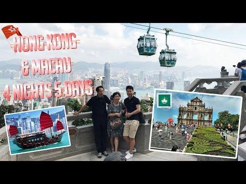 Hong Kong - Macau 4nights 5 days Family Trip Vlog 홍콩 마카오 여행영상