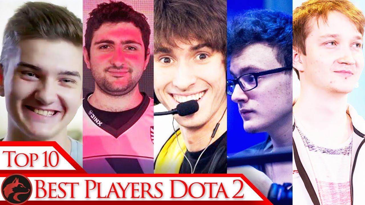 Top 10 Ranked Dota 2 Players In The EU YouTube