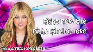 Download Hannah Montana (Forever) - Love That Lets Go - ft. Billy Ray Cyrus (Lyrics) HD MP3 song and Music Video