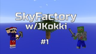 SkyFactory w/JKokki #1 - SkyBlock season 3 :D