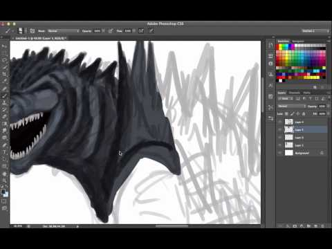 How To Draw Godzilla (According to Legendary Pictures)