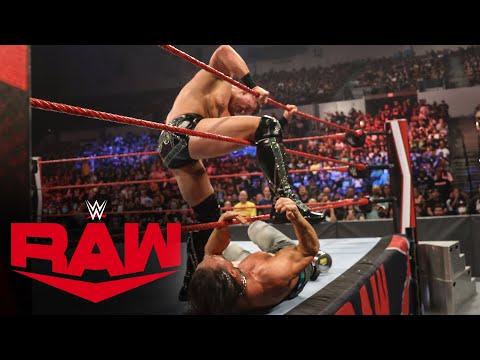The Miz viciously attacks John Morrison: Raw, Aug. 23, 2021