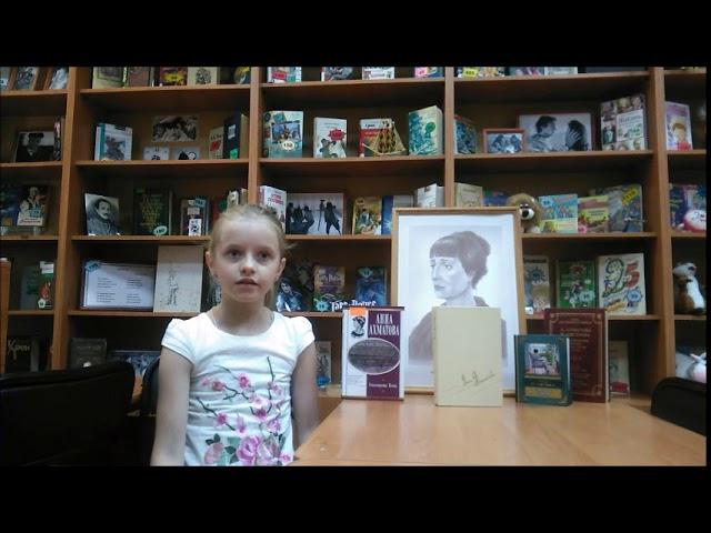 Изображение предпросмотра прочтения – ДарьяПушкарь читает произведение «Молюсь оконному лучу» А.А.Ахматовой
