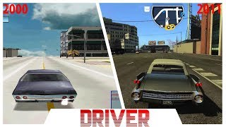 Driver Game Series Evolution Playstation 1999 2011 PS1 PS2 PS3