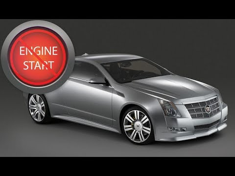 How to open cadillac cts trunk with dead battery