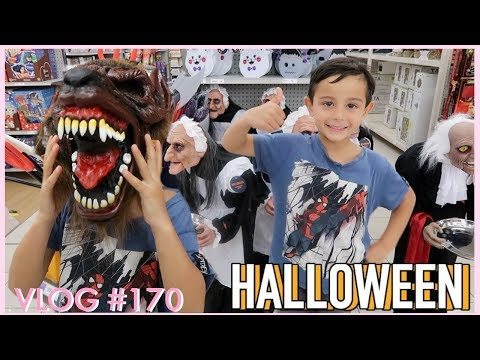 HALLOWEEN COSTUME SHOPPING + GROCERY SHOPPING