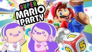 HUSBAND & WIFE vs CHEATING NPC! Super Mario Party | Game Night Date Night!