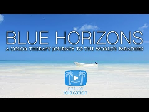 BLUE HORIZONS   a Pure Nature Relaxation Video 4K UHD