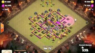 Clash of Clans 3 Stars TH7 vs TH7 Dragon and Loons- Dragoon by Mikeyp