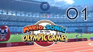 Mario & Sonic at the Olympic Games Tokyo 2020 - 01 (Story Mode)